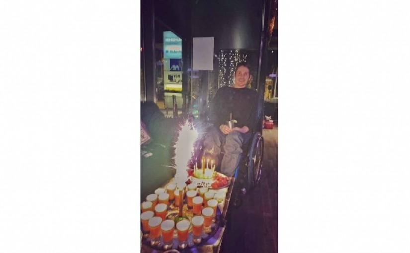 Meine Geburtstagsparty in der mojo Bar