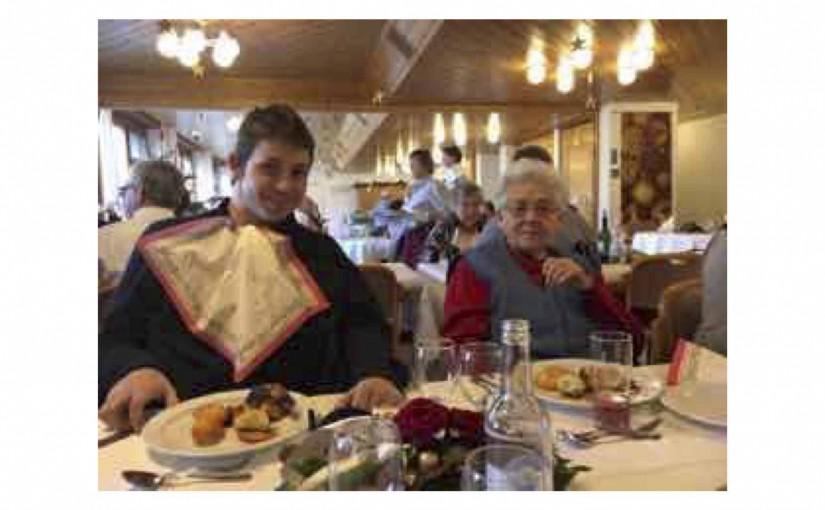 Mittagessen mit meiner Grossmutter
