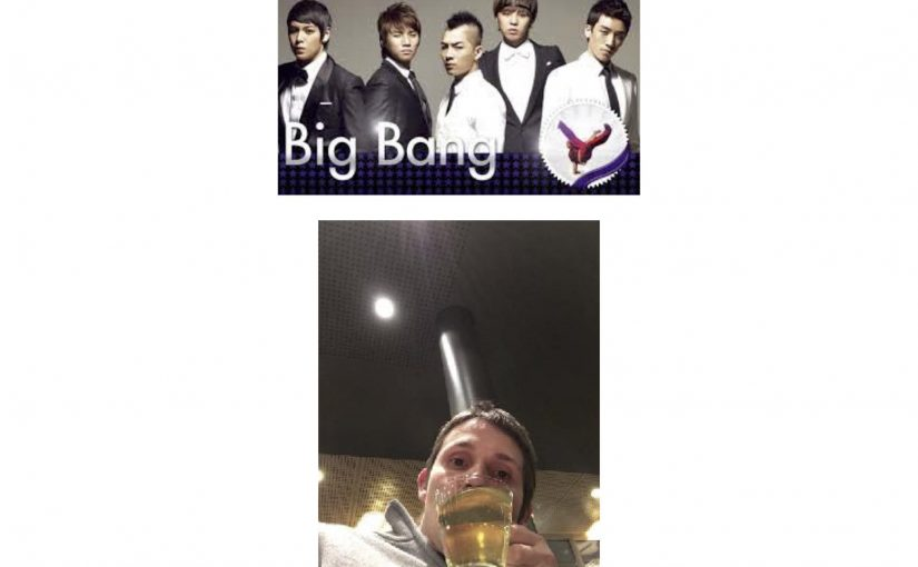 Eine koreanische Band namens Big Bang