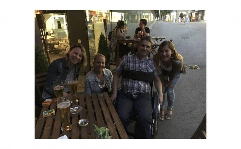 Bekanntschaft mit einer Fridayevening-Crew