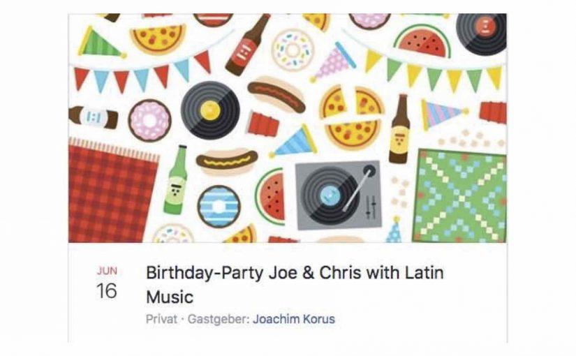 Wird eine amüsante Party