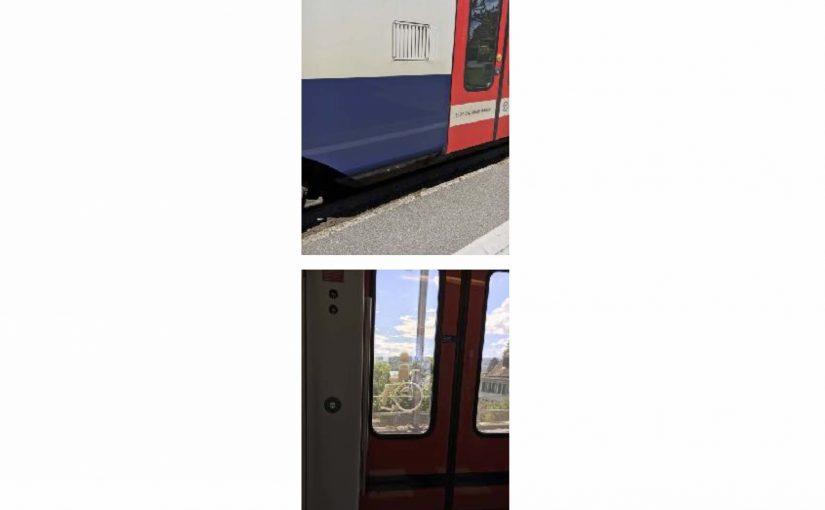 Selbständige Zug-Fahrt nach Rapperswil Jona