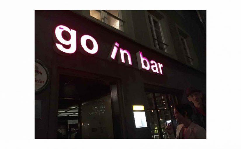 Eine weitere Bar