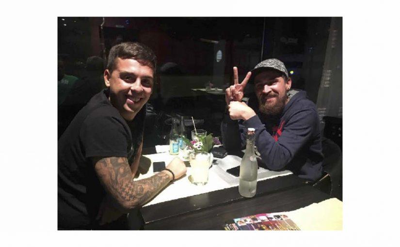 Mit Migi und Andy im Mojo