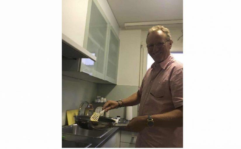 H.J. ist nicht nur ein erstklassiger Grillmeister, sondern auch ein spitzen Koch