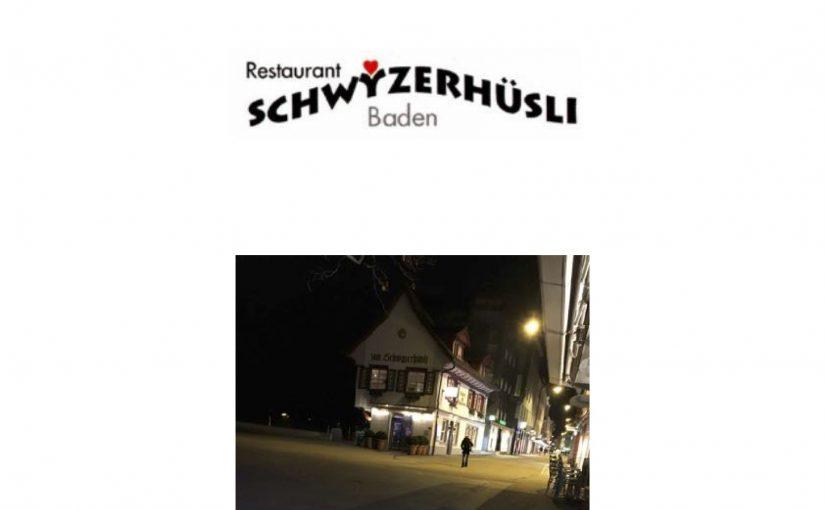 In der Schwyzerhüsli-Bar