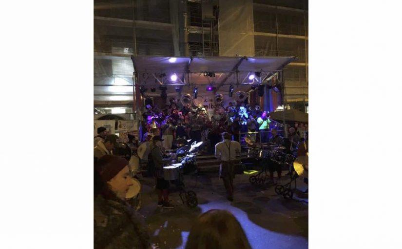 Mit Egghart an der BadenerFasnacht