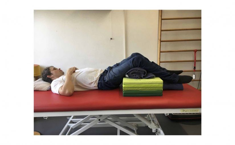 Habe eine schmerzhafte Nackenverspannung