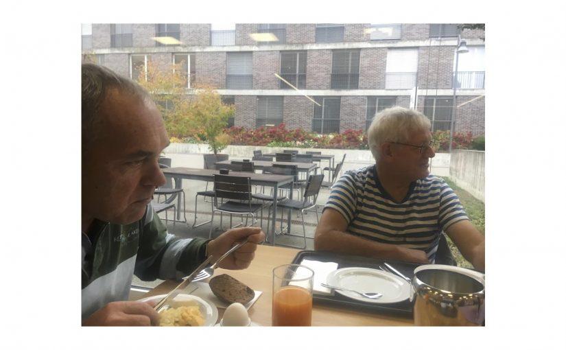 Brunchen mit Ernst und meinem Vater