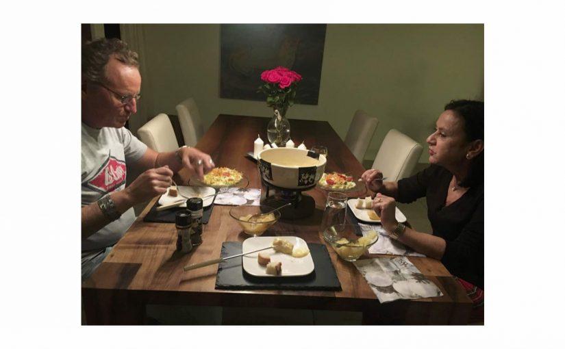 Nachtessen bei Müätsch und H.J.