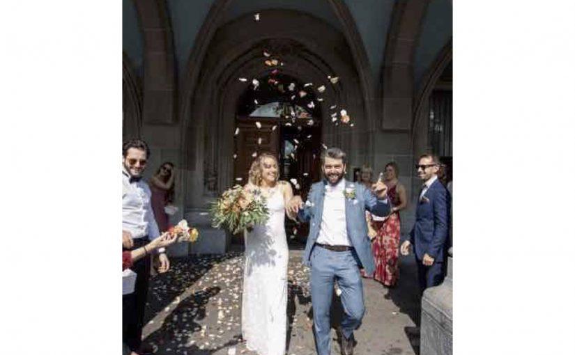 Die Hochzeit von Nadine und Cyrill