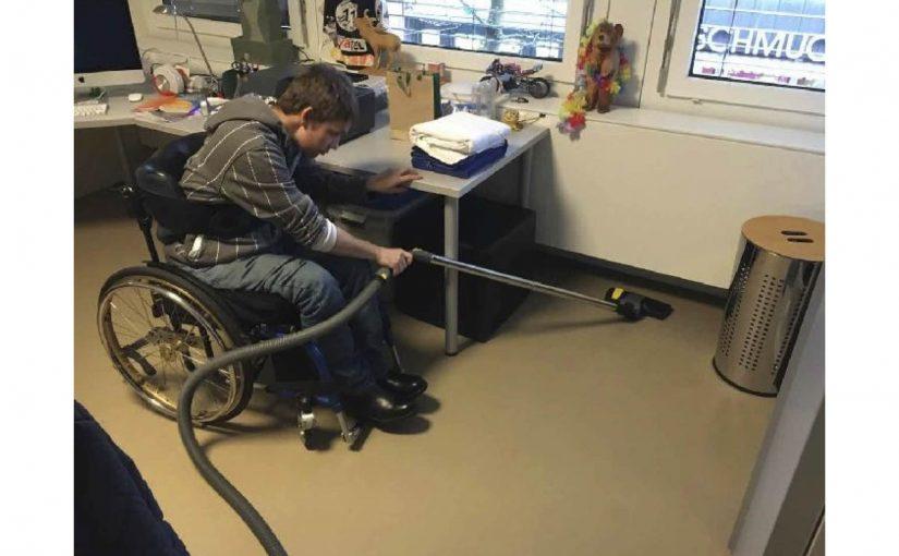 Zimmerreinigung und Physiotherapie