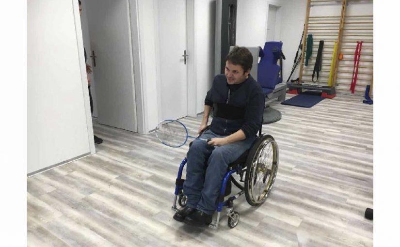 Zimmer putzten und Physiotherapie