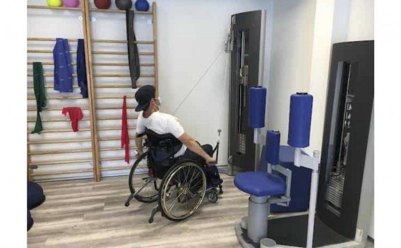 Am Morgen bei Greter und am Nachmittag eine grössere Rollstuhl-Runde in Jona