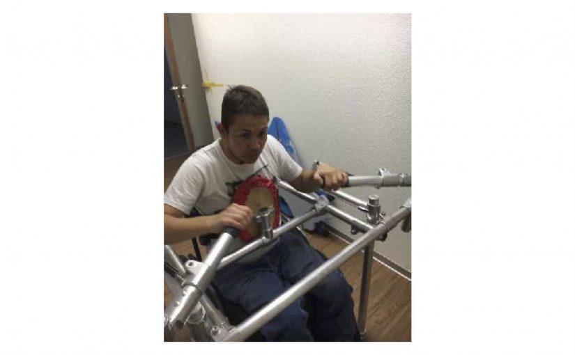 Am Morgen gerudert und am Nachmittag eine selbständige Rollstuhl-Runde