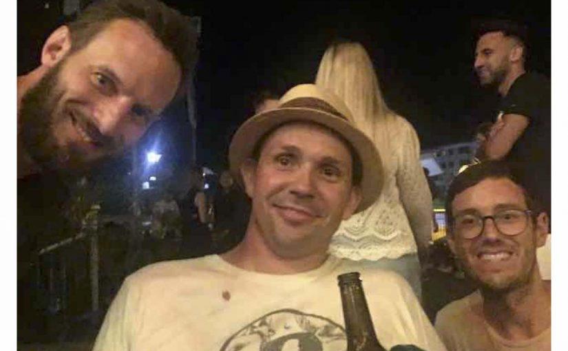 Chilliger Abend mit René und Stefan