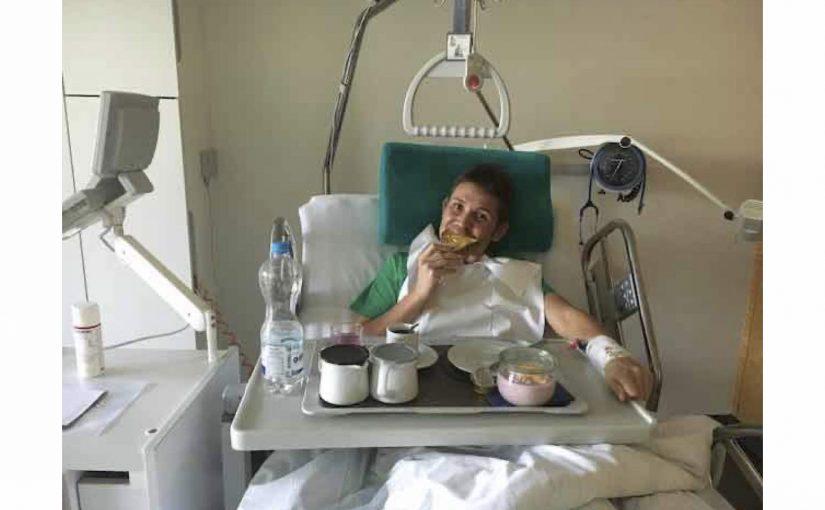 Der Austritt vom Spital Männedorf wird am 11. September' 20 sein