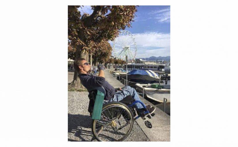 Rollstuhl-Runde an den Zürichsee und selbständig zurück
