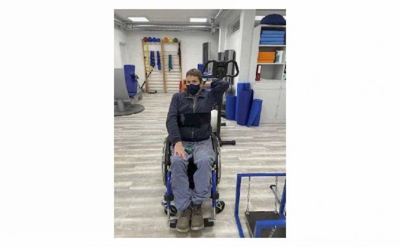 Physiotherapie und Standing