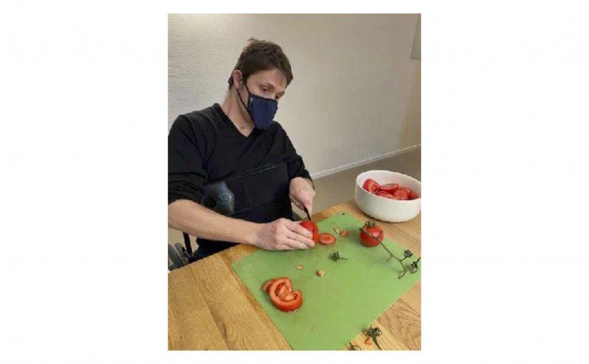 Half Walliser-Rösti zu kochen und Atelier im Casamea