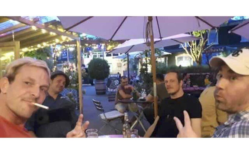 Amüsanter Abend mit Christoph, Lisa und Marius