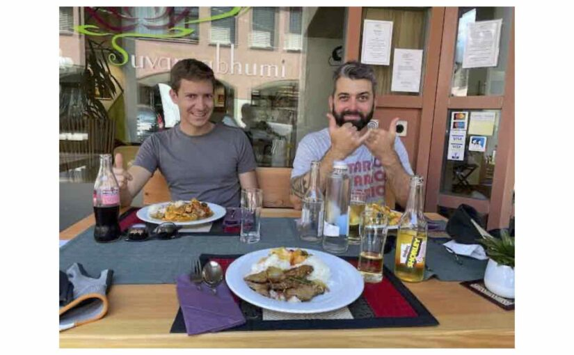 Lunch mit Siggo und Lolo