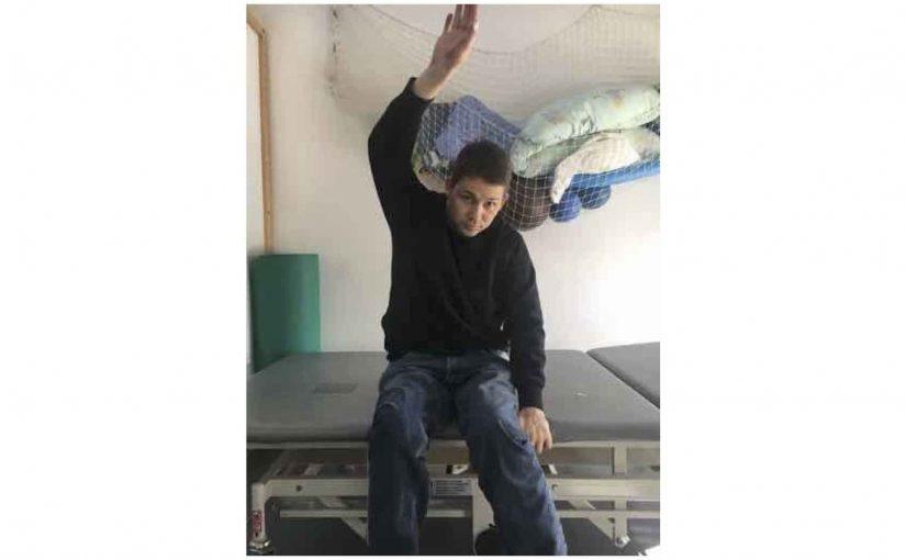 Atelier und Physiotherapie am Morgen