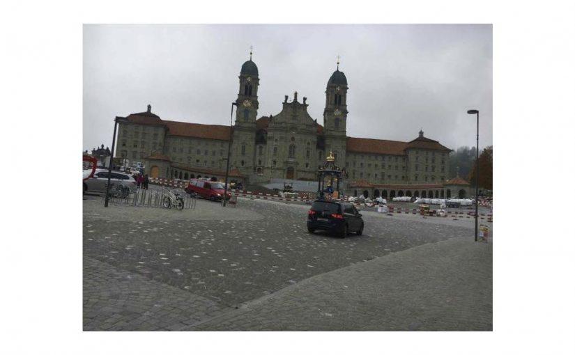 Besichtigung des Kloster Einsiedeln