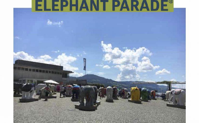 Die Elephant Parade am Fischmarktplatz