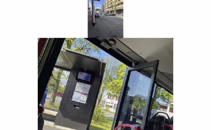 Zum ersten Mal im Bus zur Arbeit